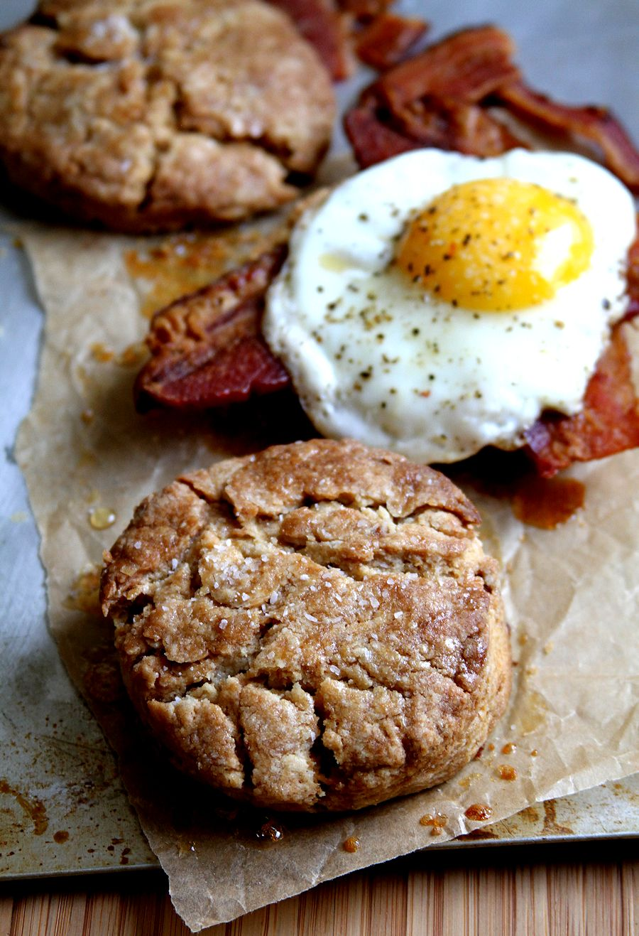 Maple Bacon Biscuits From The Huckleberry Cafe Recipes — Dishmaps