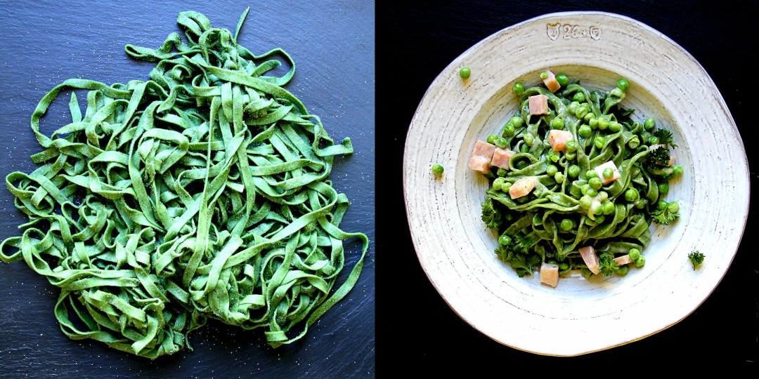 How to Make Homemade Spinach Pasta – A Cup of Sugar … A Pinch of ...