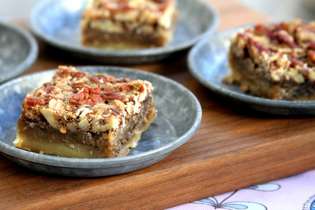 Maple Pecan Shortbread Bars – A Cup of Sugar … A Pinch of Salt